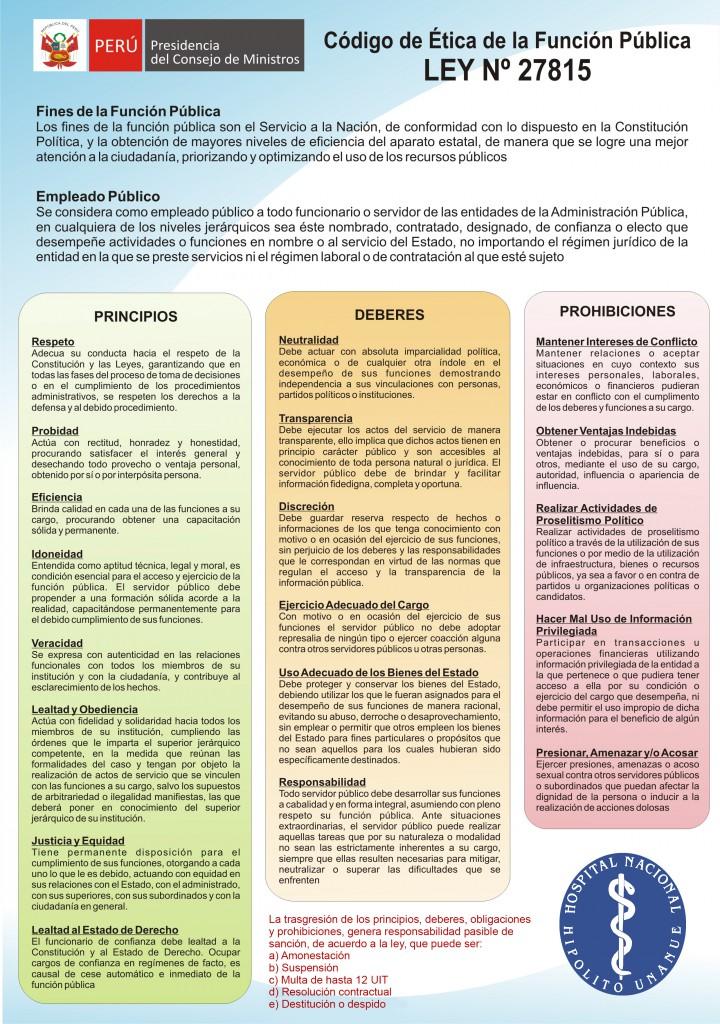 CODIGO DE ETICA PARA WEB